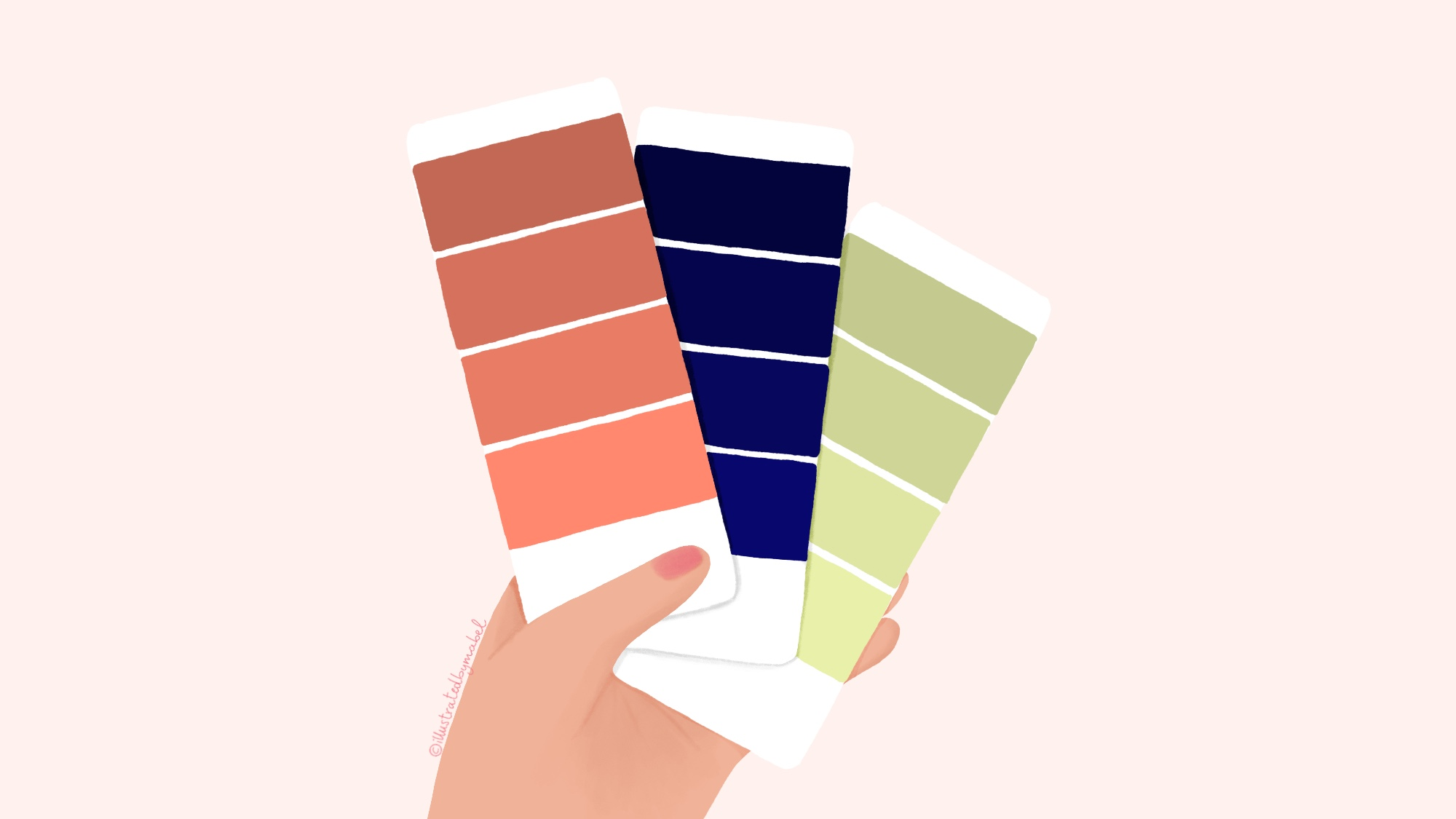 color palette illustration