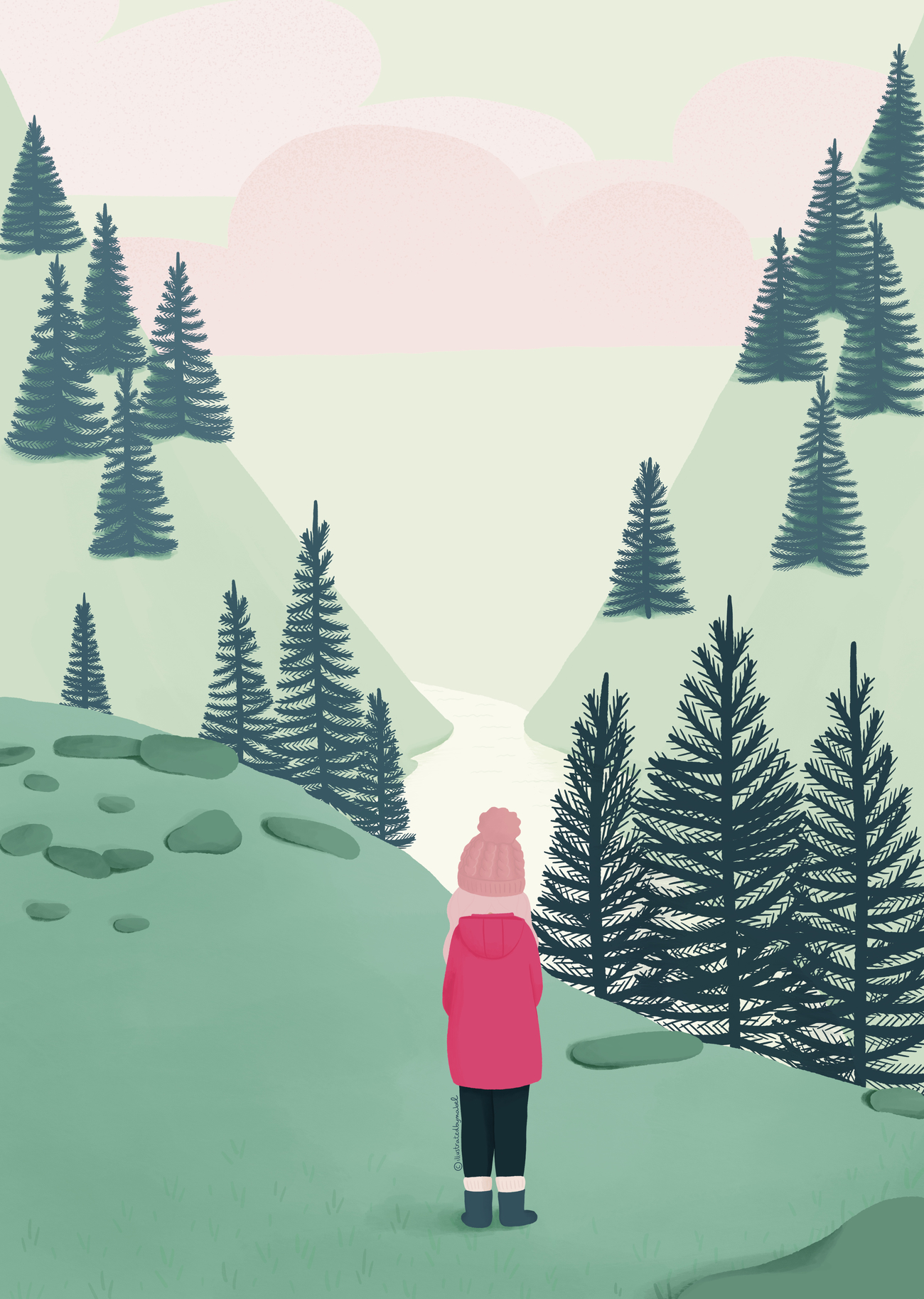 How to find your illustration style
