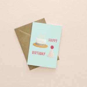 Cake birthday card