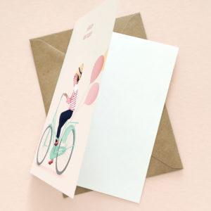 Happy birthday greeting card for her