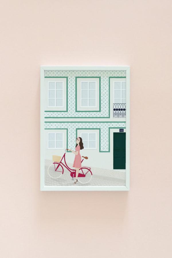 Portugal illustration print 1